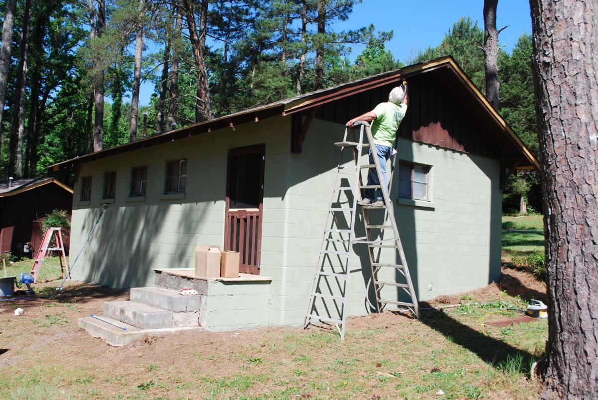 39 a god thing 39 sojourners spruce up camp neyati religion for Anthony lakes cabin rentals