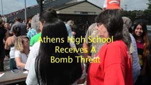 Athens High School Bomb Threat