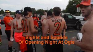 Sights And Sounds Opening Night At Ogle Stadium