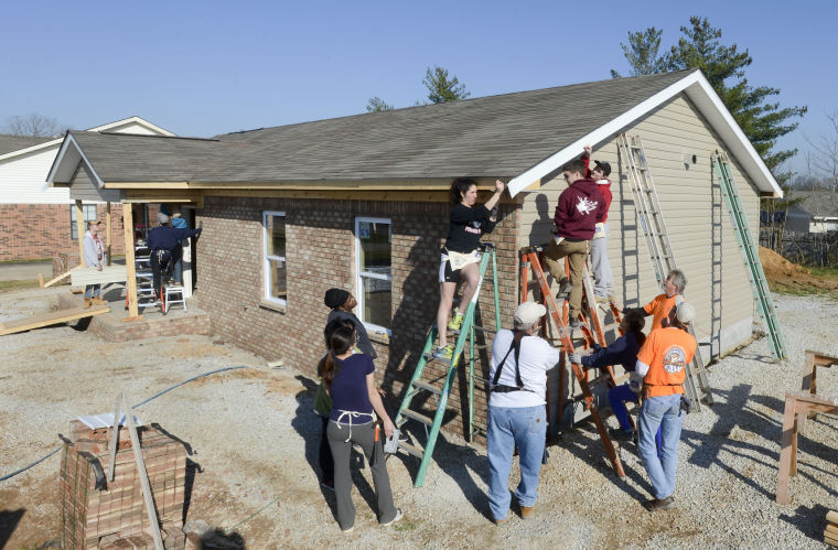 Harvard Students Help Build A Habitat For Humanity Home