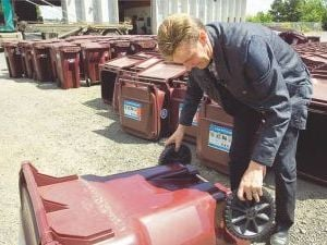 Residents filling new recycling carts too soon