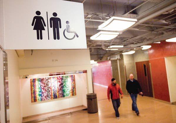 Gop pushes against gender neutral restrooms local for Against gender neutral bathrooms