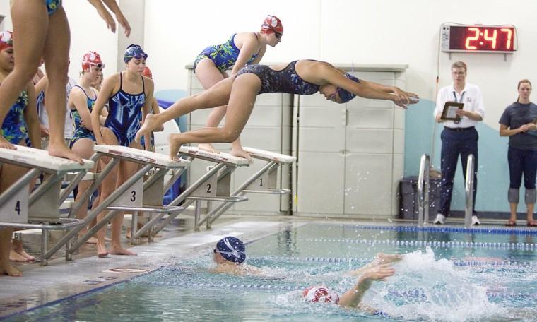swim meet scoring system for 4 team