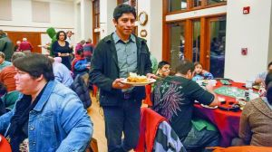 Community dinner attracts more than 100