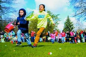 Pullman egg hunt gets sweeter