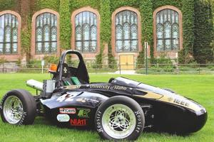 UI students¿ hybrid race car takes eighth at international compe