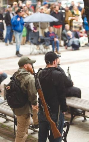 Peace and the way of the gun