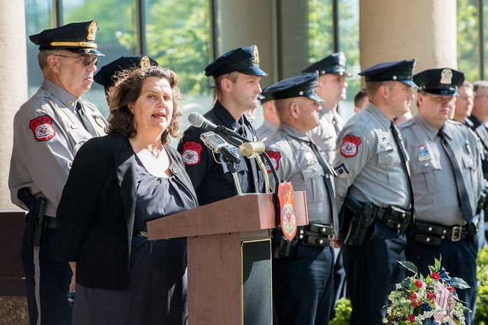 police honored nationally