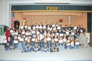 Students graduate from DARE program
