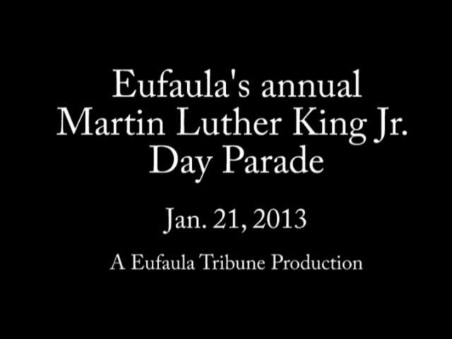 Eufaula MLK Day Parade