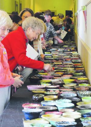 Empty Bowls Dothan benefits Food Bank, Cultural Arts Center