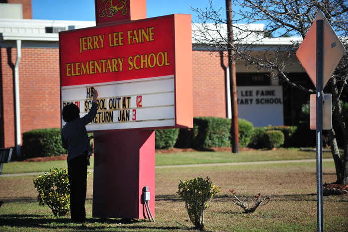 Faine Elementary School Placed on Lock-Down After Threat