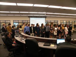 Accomplishments of students recognized at Enterprise BOE