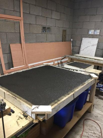 Concrete in counters llc new countertops kitchen remodeling enterprise al for Bathroom remodeling dothan al
