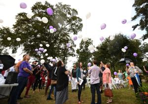 Wiregrass Angel balloon release for homicide victims
