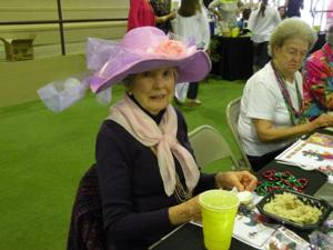 Senior citizens enjoy Mardi Gras Prom