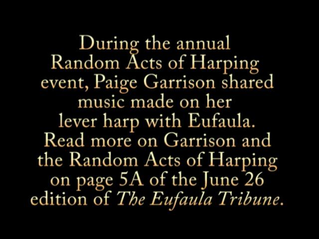 Eufaula represented in Random Acts of Harping