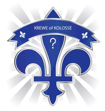 Krewe of Kolosse logo