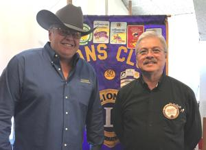 Martin speaks at Lions Club meeting