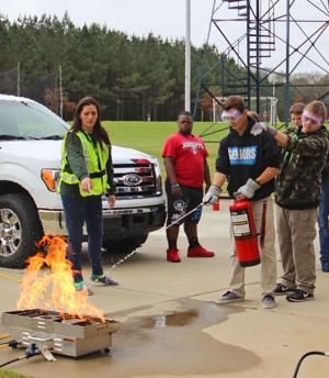 EHS JROTC learns disaster preparedness from CERT