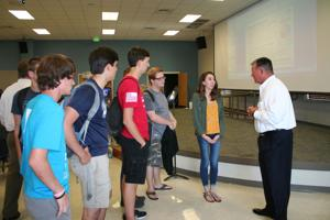 Lockheed Martin official encourages EHS students to pursue science degrees