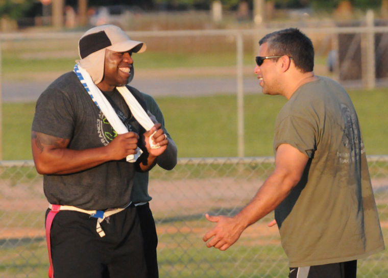 Special Olympics Flag Football game with the Dothan Police ...