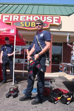 Firehouse Subs grant purchases extrication tool for Enterprise Fire