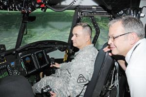 New CH-47F simulator 1st of its kind