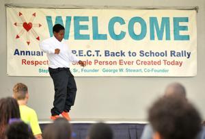 R.E.S.P.E.C.T. Back to School Rally