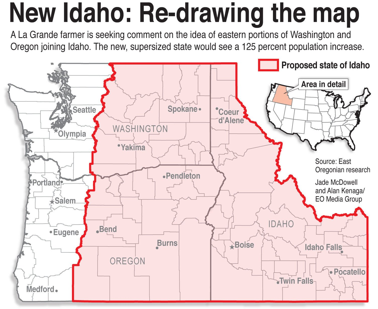 Sign Petition Eastern Washington And Eastern Oregon To Join Idaho