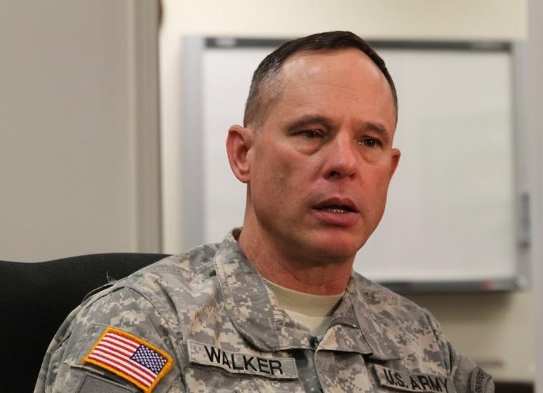 Major General Keith Walker
