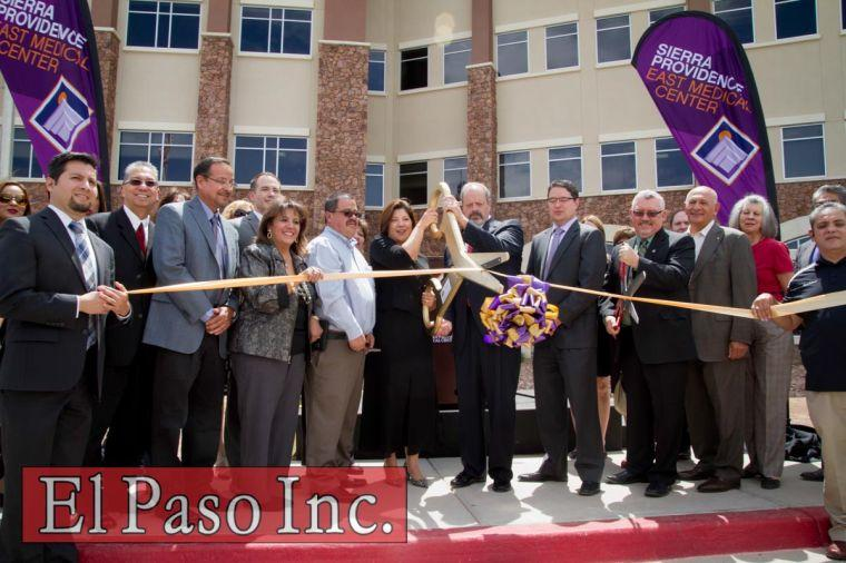 sierra providence east tower two ribbon cutting el paso inc photos. Black Bedroom Furniture Sets. Home Design Ideas