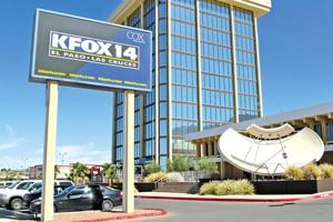 KFOX Channel 14's current studios on North Mesa Street.