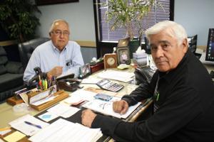 Carlos Ornelas and Larry Trejo