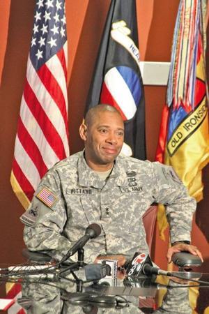 Maj. Gen. Dana Pittard, Fort Bliss commander