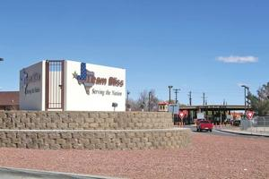 Cassidy Gate at Fort Bliss