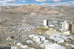 El Paso ballpark rendering
