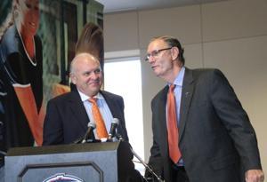 UTEP Football Head Coach Mike Price and Bob Stull