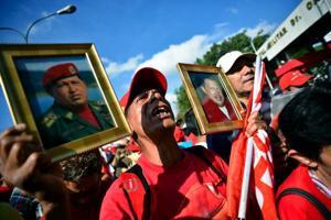 Mourning of President Hugo Chavez
