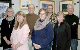 <p>Claudia Farber, Cydney Springer, Lars Sage, Karen McPherson, Craig Soderberg, Pat Nelson, Greg Miles. Not pictured, Dawn Normali & Bill Pinkham. Courtesy photo</p>