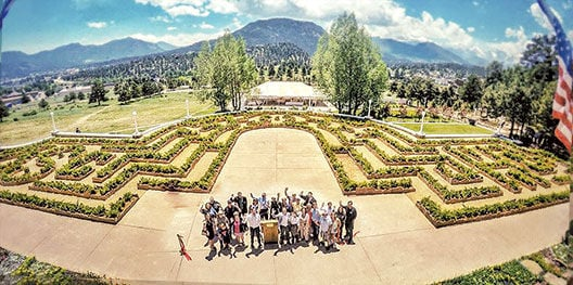 Stanley Hotel Officially Opens Their New Hedge Maze
