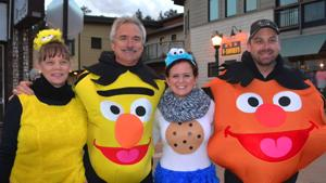 Estes Park News Footage of Halloween Trick or Treating 2015