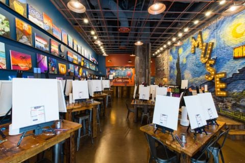 New Location For Muse Paintbar Opens In Mosaic District