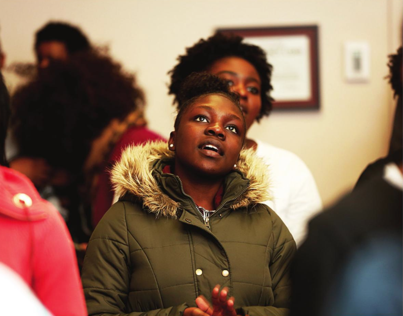 EMU students honor Dr. Martin Luther King Jr