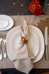 A place setting by Niche Home Furnishings