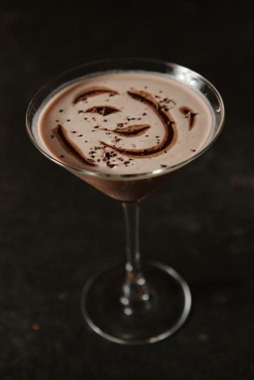 Chocolate Raspberry Martini | Cocktail Recipes | Feast Magazine