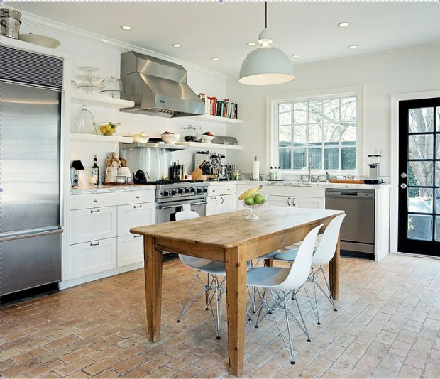 Design Bites: Modern Rustic With A Whitewashed Twist