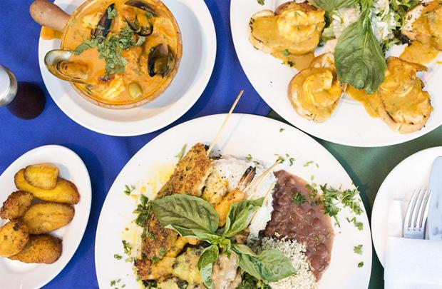 Brasilia now open on south grand cooking up authentic for Authentic brazilian cuisine