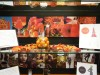 An up-close look at a display showcasing Fontbonne University's Foodology The Culture, Economics and Science of Food