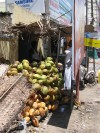 A local coconut stall near my in-law's house
